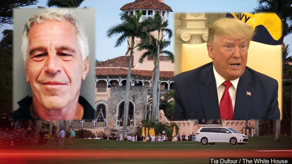 Report Trump Barred Jeffrey Epstein From Mar A Lago Because