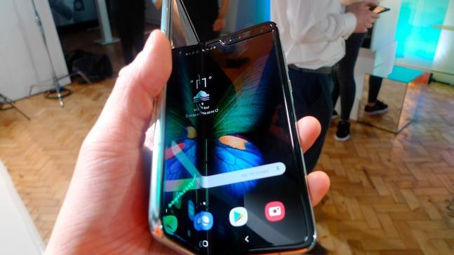 Samsung folding screen phone to go on sale after big delay