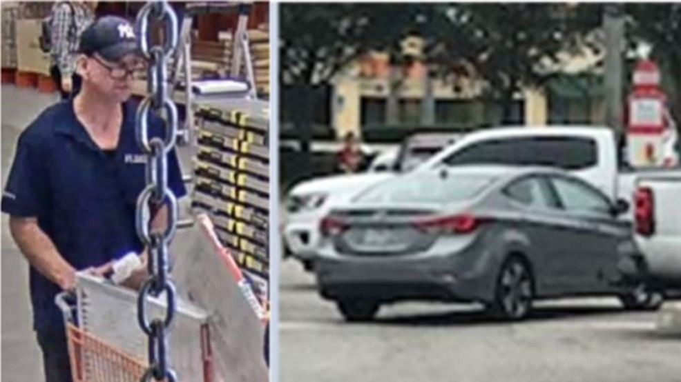 Tool thief caught on camera at Home Depot: Sheriff | WPEC on
