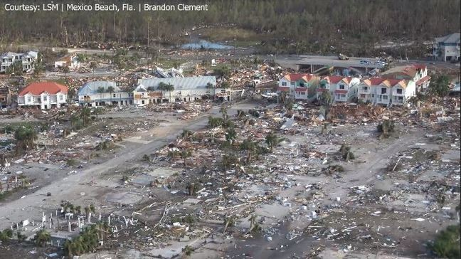 Mexico Beach obliterated by Hurricane Michael | WPEC