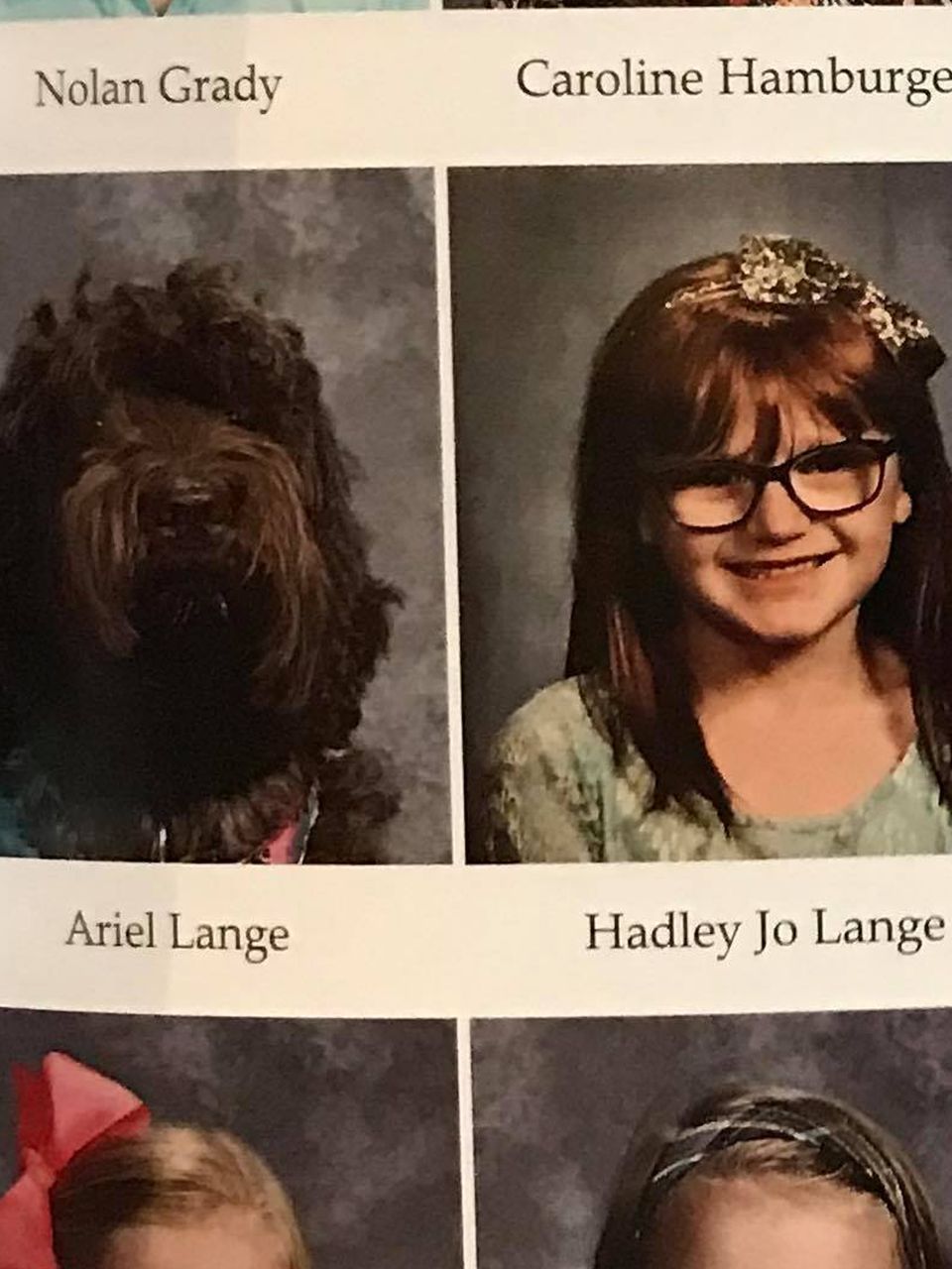 Girl S Service Dog Appears In School Yearbook Wpec