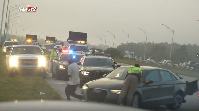 FHP trooper hit by car on I-95 while responding to crash | WPEC