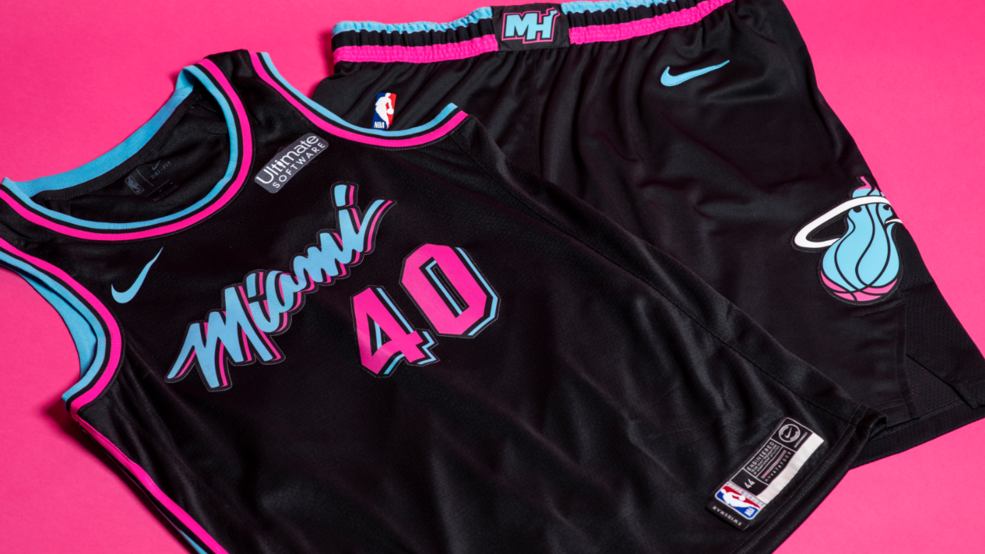 huge selection of 07e22 3abcf Miami Heat reveal black 'Vice' jerseys, debut to come Friday ...