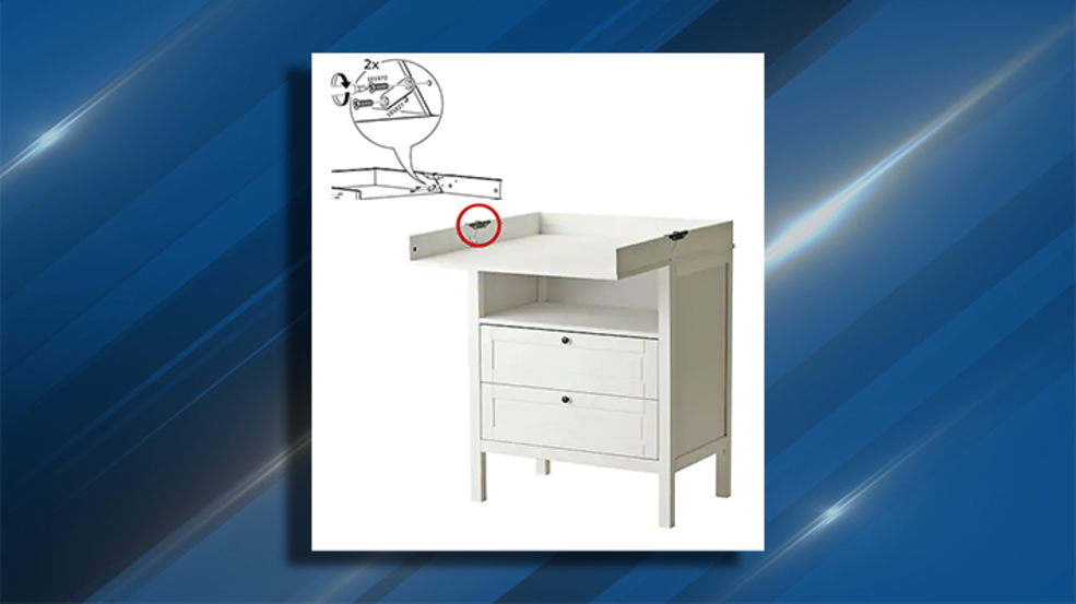 Ikea Recalls Changing Tables After