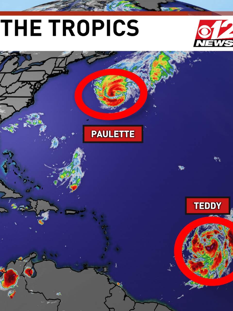 Hurricane Sally To Stay A Cat 1 Tracking 3 Tropical Storms Wpec