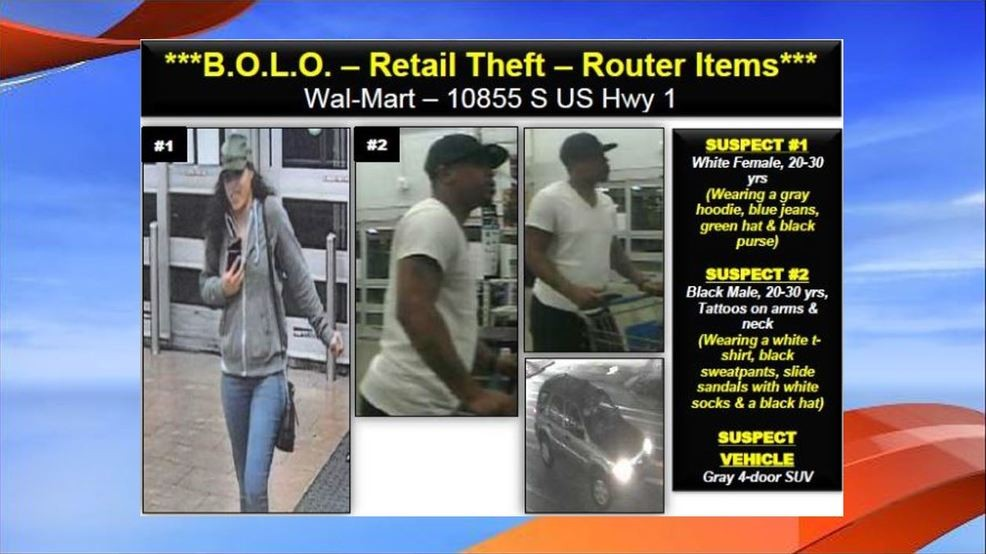Couple sought for stealing router items from Port St  Lucie