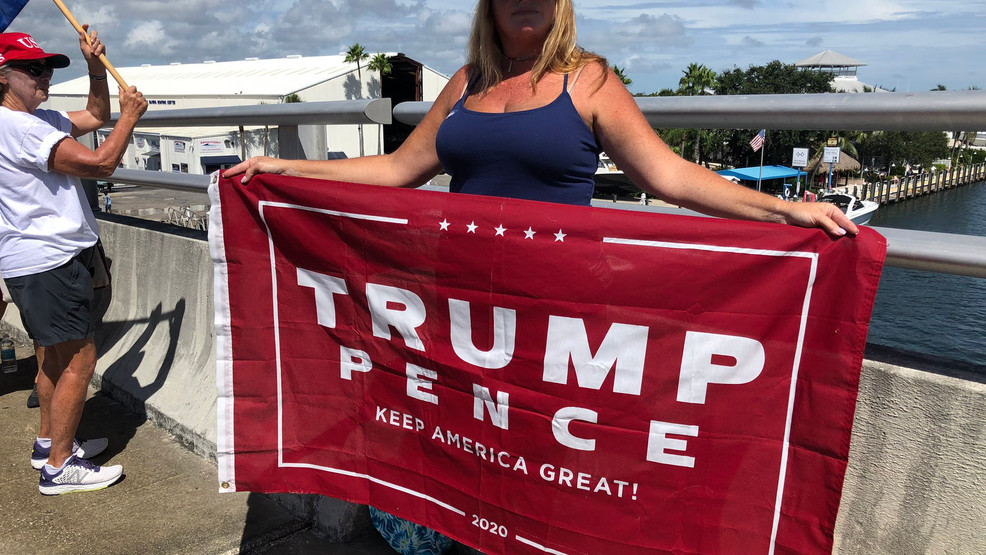 President Trump Supporters Participate In Labor Day Boat Parade In His Honor Wpec