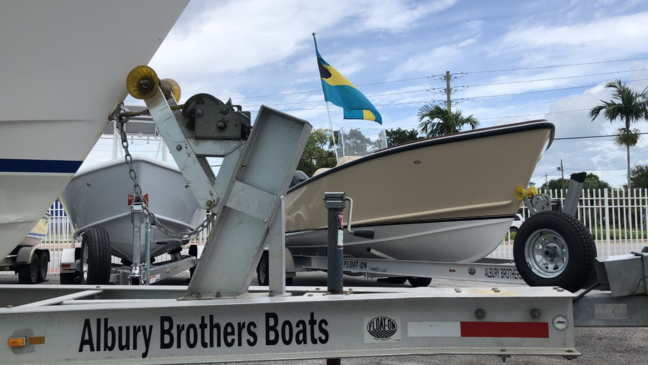 Local boating business collecting supplies for sister shop