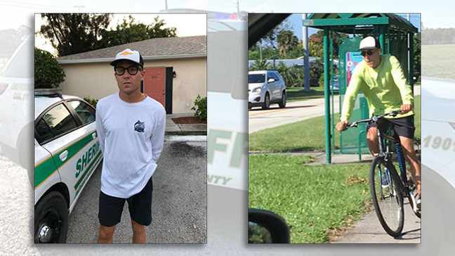 Man admits to stealing political signs. (Indian River County Sheriff's Office)
