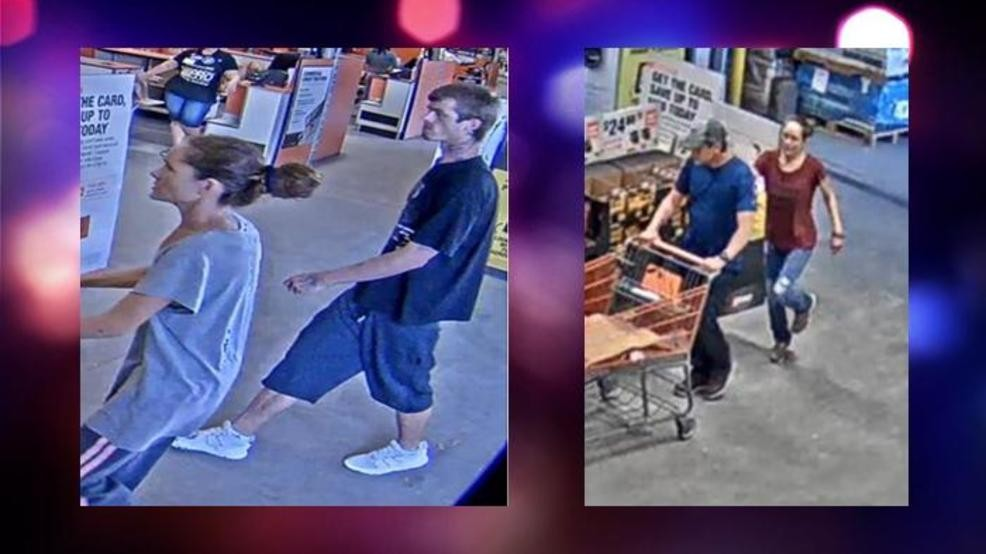 Couple Sought For Stealing Tools From Home Depot Wpec