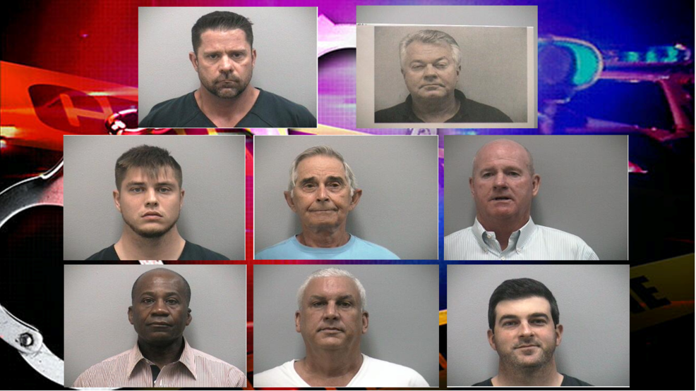 Deputies arrest 9 more men in Martin County in connection to