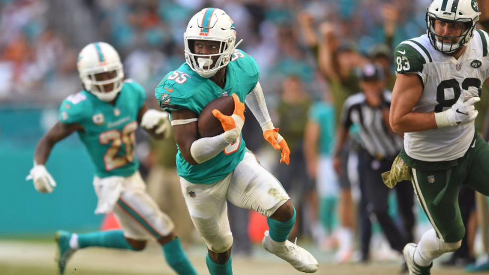 1cbc28ce Dolphins'Jerome Baker grateful for opportunity to be a leader in ...